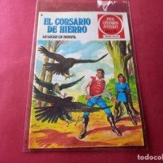 Tebeos: EL CORSARIO DE HIERRO -SERIE ROJA -Nº 38 EXCELENTE ESTADO-VER CALIFICACION DEL MISMO. Lote 246631500