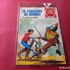 Tebeos: EL CORSARIO DE HIERRO -SERIE ROJA -Nº 42 EXCELENTE ESTADO-VER CALIFICACION DEL MISMO. Lote 246631740