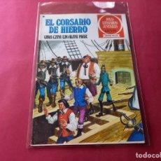 Tebeos: EL CORSARIO DE HIERRO -SERIE ROJA -Nº 46 EXCELENTE ESTADO-VER CALIFICACION DEL MISMO. Lote 246631955