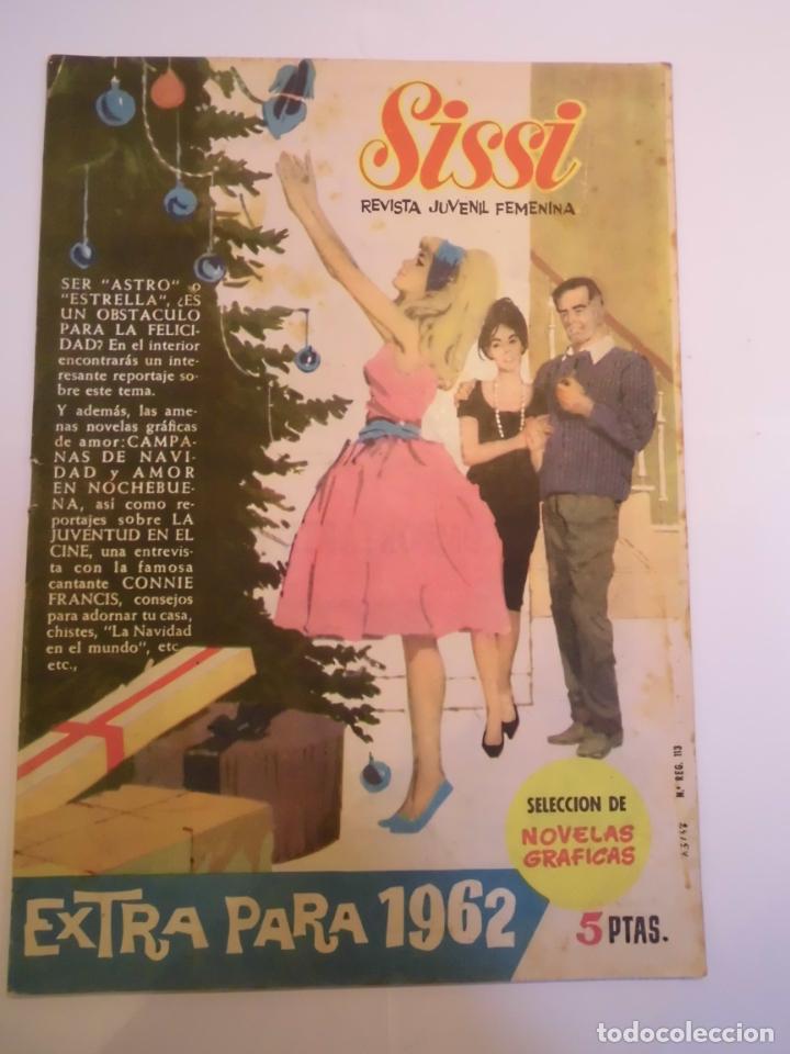 SISSI SELECCIÓN DE NOVELAS GRAFICAS EXTRA PARA 1962 - BRUGUERA (Tebeos y Comics - Bruguera - Sissi)