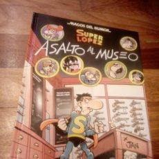 Livros de Banda Desenhada: SUPER LÓPEZ MAGOS DEL HUMOR. SUPERLOPEZ ASALTO AL MUSEO. Lote 246915365