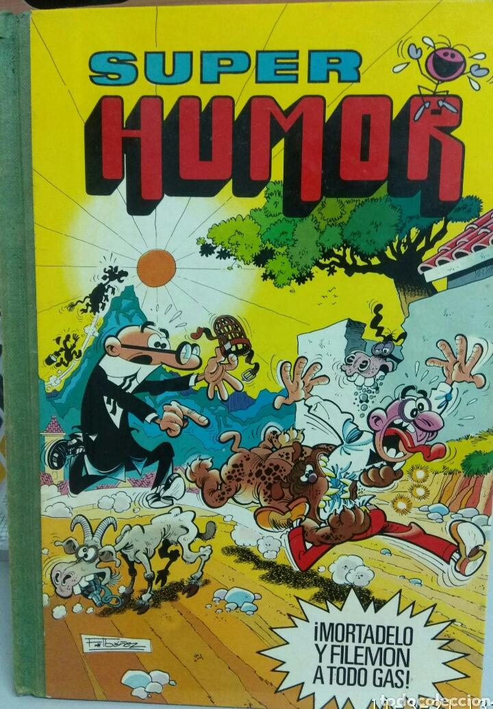 SUPER HUMOR MORTADELO Y FILEMÓN VOLUMEN XXXV PRIMERA EDICIÓN (Tebeos y Comics - Bruguera - Super Humor)