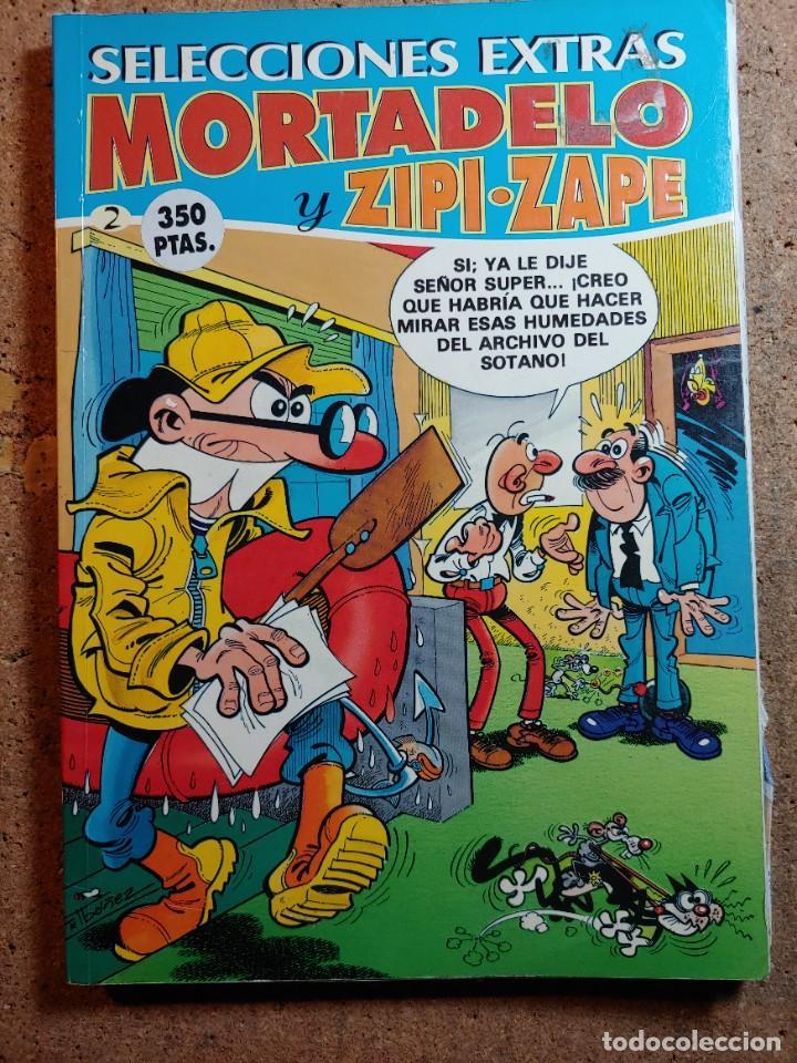 COMIC SELECCIONES EXTRAS MORTADELO Y ZIPI Y ZAPE Nº 2 (Tebeos y Comics - Bruguera - Mortadelo)