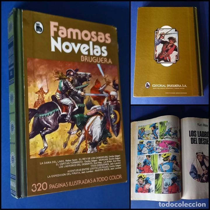 FAMOSAS NOVELAS VOLÚMEN XX - 20 - BRUGUERA- 1ª EDICION MAYO 1982 (Tebeos y Comics - Bruguera - Otros)