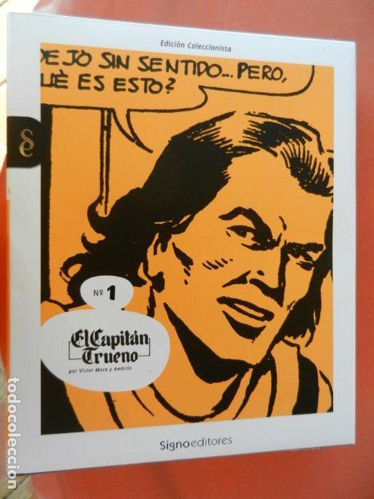 Tebeos: EL CAPITÁN TRUENO - EDICIÓN COLECCIONISTAS - SIGNO EDITORES 2018 - 10 TOMOS - NUEVOS. - Foto 3 - 247294965
