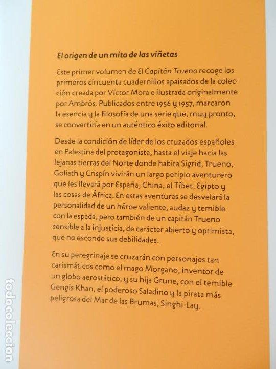 Tebeos: EL CAPITÁN TRUENO - EDICIÓN COLECCIONISTAS - SIGNO EDITORES 2018 - 10 TOMOS - NUEVOS. - Foto 5 - 247294965