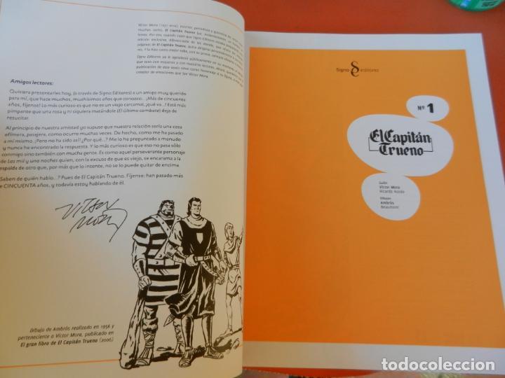 Tebeos: EL CAPITÁN TRUENO - EDICIÓN COLECCIONISTAS - SIGNO EDITORES 2018 - 10 TOMOS - NUEVOS. - Foto 7 - 247294965