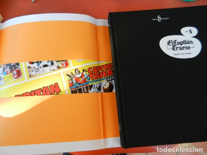 Tebeos: EL CAPITÁN TRUENO - EDICIÓN COLECCIONISTAS - SIGNO EDITORES 2018 - 10 TOMOS - NUEVOS. - Foto 34 - 247294965