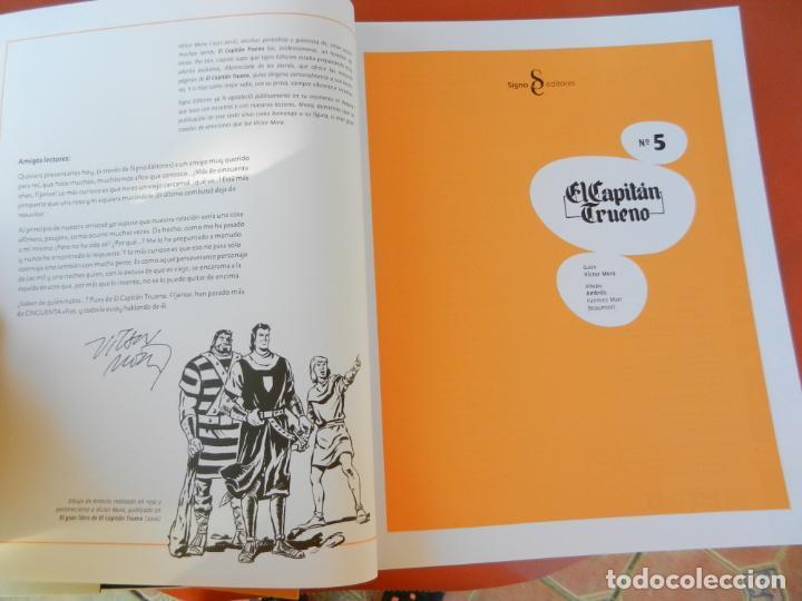 Tebeos: EL CAPITÁN TRUENO - EDICIÓN COLECCIONISTAS - SIGNO EDITORES 2018 - 10 TOMOS - NUEVOS. - Foto 37 - 247294965