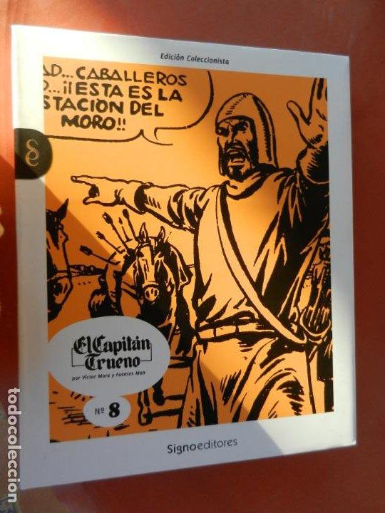 Tebeos: EL CAPITÁN TRUENO - EDICIÓN COLECCIONISTAS - SIGNO EDITORES 2018 - 10 TOMOS - NUEVOS. - Foto 50 - 247294965