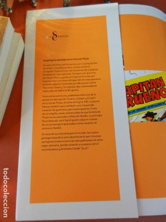 Tebeos: EL CAPITÁN TRUENO - EDICIÓN COLECCIONISTAS - SIGNO EDITORES 2018 - 10 TOMOS - NUEVOS. - Foto 52 - 247294965