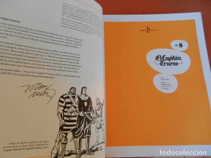 Tebeos: EL CAPITÁN TRUENO - EDICIÓN COLECCIONISTAS - SIGNO EDITORES 2018 - 10 TOMOS - NUEVOS. - Foto 54 - 247294965