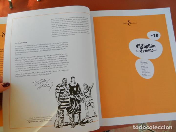 Tebeos: EL CAPITÁN TRUENO - EDICIÓN COLECCIONISTAS - SIGNO EDITORES 2018 - 10 TOMOS - NUEVOS. - Foto 67 - 247294965