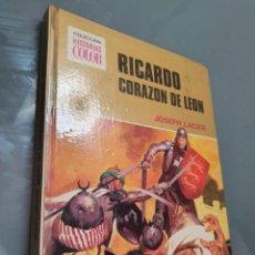 Tebeos: RICARDO CORAZON DE LEON . COLECCION HISTORIAS COLOR. Lote 247446105