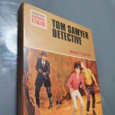 Tebeos: TOM SAWYER DETECTIVE . COLECCION HISTORIAS COLOR. Lote 247446180