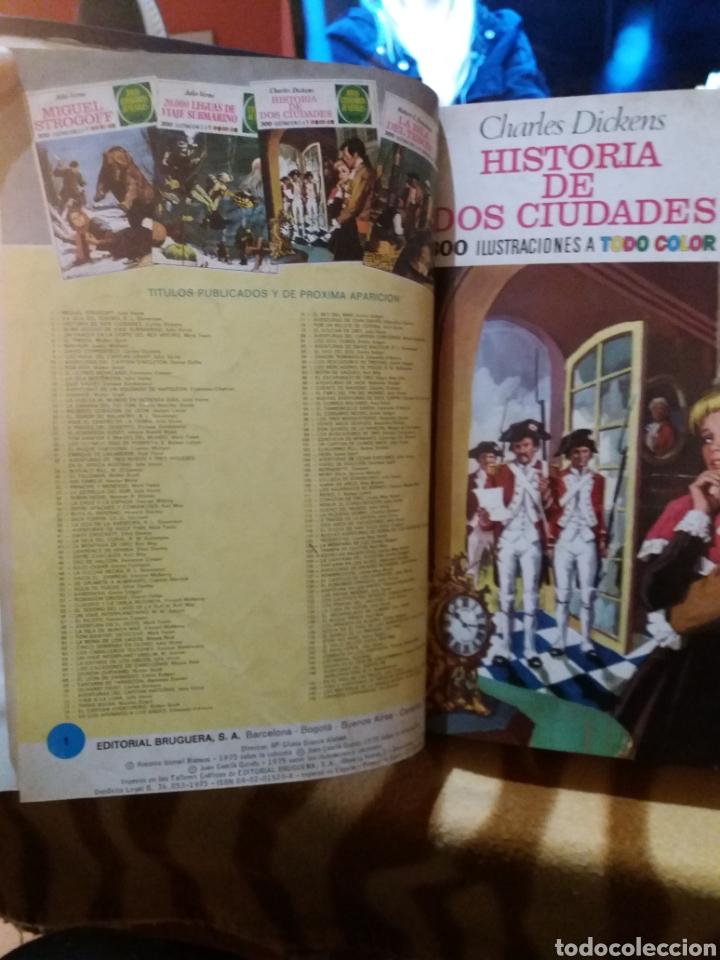 Tebeos: Tomó encuadernado de joyas literarias juveniles 21 números - Foto 2 - 247618080
