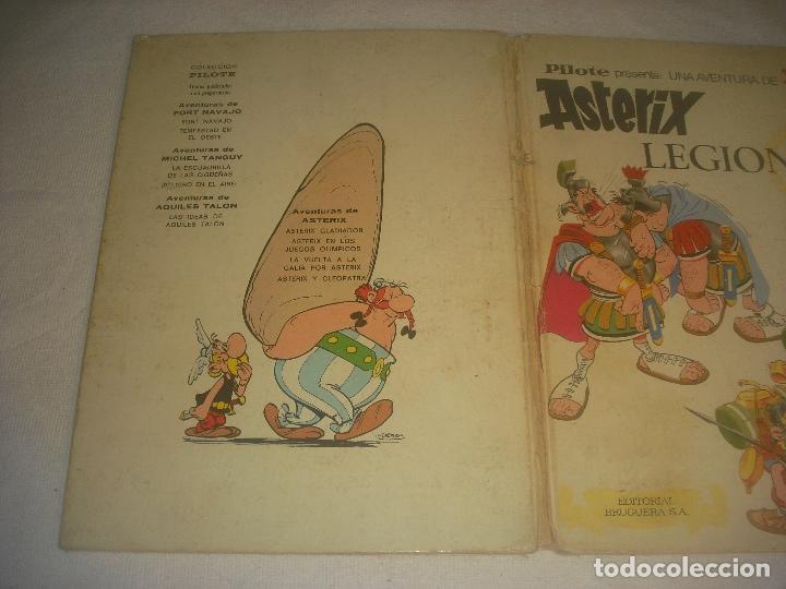 Tebeos: ASTERIX LEGIONARIO , PRIMERA EDICION 1969. ED. BRUGUERA. - Foto 2 - 247806270