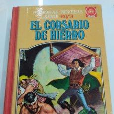 Livros de Banda Desenhada: MUY DIFÍCIL - EL CORSARIO DE HIERRO TOMO III - SERIE ROJA - FAMOSAS NOVELAS 1ª ED. 1978. Lote 248012515