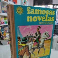 Tebeos: FAMOSAS NOVELAS VOLUMEN XVIII 18 BRUGUERA 1981 TOMO TAPA DURA 1ª EDICION UNICO TC DIFICIL. Lote 248015285