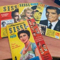 Livros de Banda Desenhada: SISSI LOTE 1 ALMANAQUE 1959 Y 3 EXTRA DE VERANO (BRUGUERA) (COIB3). Lote 248077435