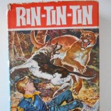 Tebeos: RIN-TIN-TIN. LA CUEVA DEL ECO. COLECCION HEROES Nº 11. EDITORIAL BRUGUERA, 1ª EDICION 1963. TAPA DUR. Lote 248156510