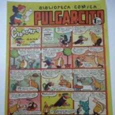 Tebeos: BIBLIOTECA COMICA. PULGARCITO. Nº 139. CARPANTA GANA UN CONCURSO BIEN CONSERVADO EDITORIAL BRUGUERA. Lote 248196880
