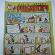 Tebeos: ALBUM INFANTIL. PULGARCITO. Nº 117. CUCUFATO PI ENCUENTRA UN EMPLEO 1949 ORIGINAL MUY BIEN CONSERVAD. Lote 248231175