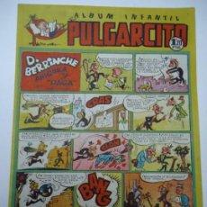 Tebeos: ALBUM INFANTIL. PULGARCITO. Nº 111 D. BERRINCHE ANIQUILA Y PAGA POR VILLARROYA 1948 ORIGINAL. Lote 248260845