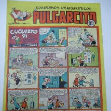 Tebeos: CUADERNOS HUMORISTICOS PULGARCITO. Nº 115. CUCUFATO PI EN EL INVENTO DEL SIGLO POR CIFRÉ 1949 ORIGIN. Lote 248272595