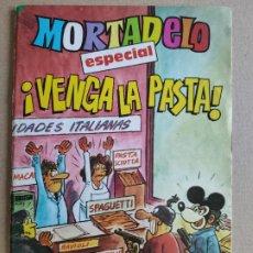 Tebeos: MORTADELO ESPECIAL- ¡VENGA LA PASTA! - REVISTA JUVENIL - EDITORIAL BRUGUERA. Lote 248281815
