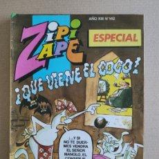 Tebeos: ZIPI Y ZAPE ESPECIAL - ¡QUE VIENE EL COCO! - EDITORIAL BRUGUERA. Lote 248284375