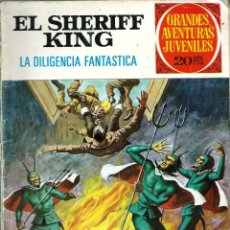 Tebeos: EL SHERIFF KING - LA DILIGENCIA FANTASTICA - GRANDES AVENTURAS JUVENILES Nº 64 - BRUGUERA 1975. Lote 248450440