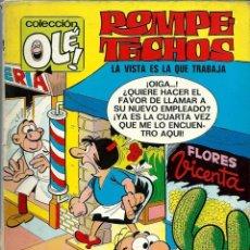 Tebeos: OLE Nº 14 - ROMPETECHOS, LA VISTA ES LA QUE TRABAJA - BRUGUERA 1971, 1A EDICION - BASTANTE BIEN. Lote 248452350