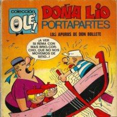 Tebeos: OLE Nº 65 - DOÑA LIO PORTAPARTES - DE RAF - BRUGUERA 1972, 1A EDICION - BASTANTE BIEN, VER DESCRIPC,. Lote 248453830