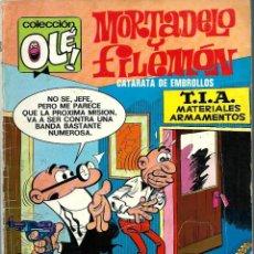Tebeos: OLE Nº 100 - MORTADELO Y FILEMON - EL ANTIDOTO - BRUGUERA 1974 - 1A EDICION. Lote 248454740
