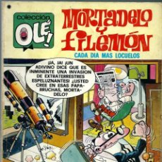 Tebeos: OLE Nº 142 - MORTADELO Y FILEMON - VALOR Y AL TORO - BRUGUERA 1977 - 1A EDICION. Lote 248455060