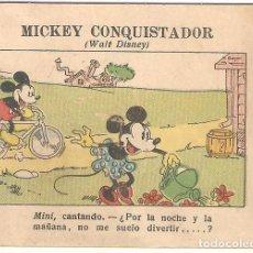 Livros de Banda Desenhada: MICKEY CONQUISTADOR (WALT DISNEY) OBSEQUIO DEL BANCO CENTRAL A LOS PEQUEÑOS CLIENTES.. Lote 248485840