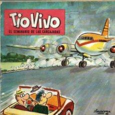 Tebeos: TIO VIVO EPOCA 2ª Nº 7 - BRUGUERA 1961 - UNICO EN TODOCOLECCION. Lote 248503600