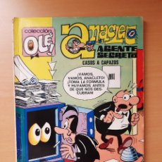 """Tebeos: OLÉ 74 ANACLETO """"CASOS A CAPAZOS"""" 1ª EDICIÓN (1973) VÁZQUEZ. Lote 248591100"""