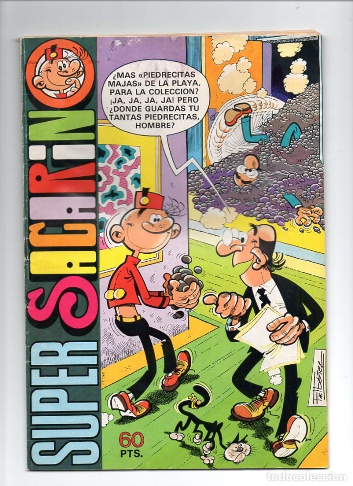 Nº 66 SUPER SACARINO. EDITORIAL BRUGUERA,S.A. 1980 (Tebeos y Comics - Bruguera - Ole)