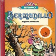 Tebeos: BERMUDILLO. EL GENIO DEL HATILLO. TOMO DE GRAN BRAVO. Lote 249313665