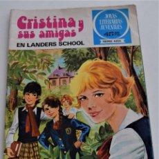 Tebeos: CRISTINA Y SUS AMIGAS Nº 5 - JOYAS LITERARIAS JUVENILES SERIE AZUL - EDITORIAL BRUGUERA AÑO 1978. Lote 249371405