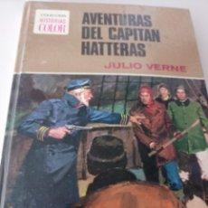 Tebeos: AVENTURAS DEL CAPITAN HATTERAS. COLECCION HISTORIAS COLOR. Nº 11. 2ª EDICION 1978 REF. GAR 333. Lote 249522320