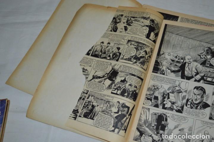 Tebeos: HORA T / BRUGUERA Año 1975 - Completa 12 Números / SPIDER y ZARPA de ACERO - Por JESÚS BLASCO ¡Mira! - Foto 4 - 250231400