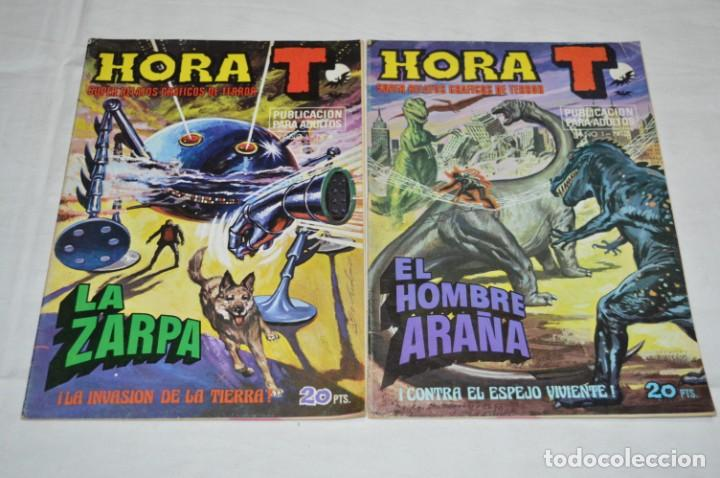 Tebeos: HORA T / BRUGUERA Año 1975 - Completa 12 Números / SPIDER y ZARPA de ACERO - Por JESÚS BLASCO ¡Mira! - Foto 5 - 250231400