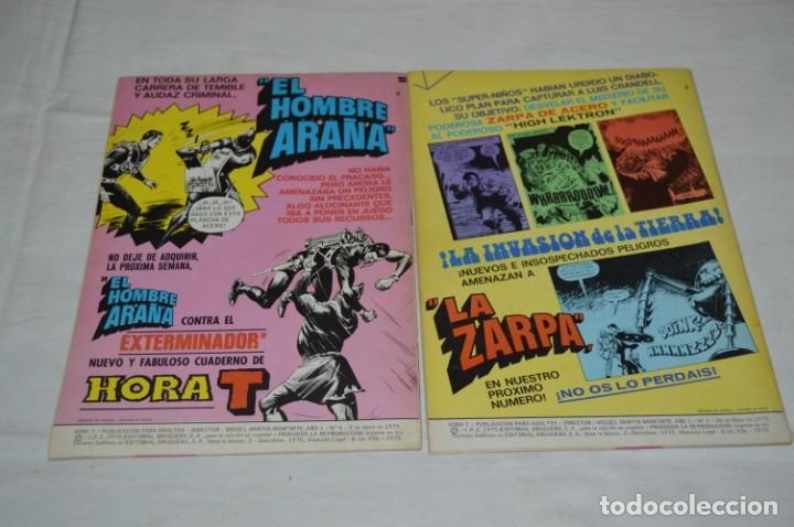 Tebeos: HORA T / BRUGUERA Año 1975 - Completa 12 Números / SPIDER y ZARPA de ACERO - Por JESÚS BLASCO ¡Mira! - Foto 6 - 250231400