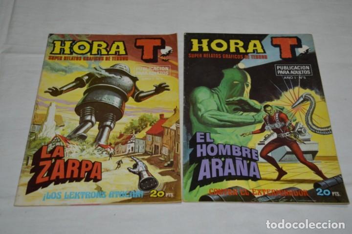 Tebeos: HORA T / BRUGUERA Año 1975 - Completa 12 Números / SPIDER y ZARPA de ACERO - Por JESÚS BLASCO ¡Mira! - Foto 7 - 250231400