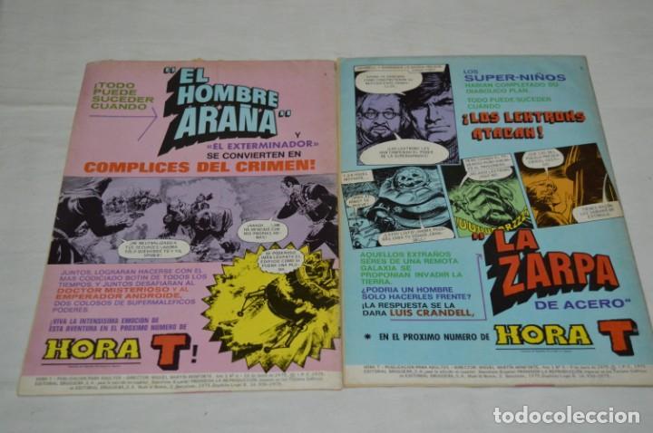Tebeos: HORA T / BRUGUERA Año 1975 - Completa 12 Números / SPIDER y ZARPA de ACERO - Por JESÚS BLASCO ¡Mira! - Foto 8 - 250231400