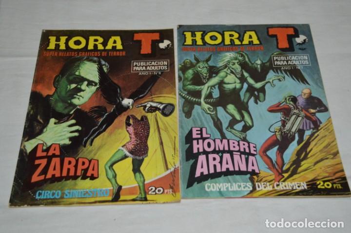 Tebeos: HORA T / BRUGUERA Año 1975 - Completa 12 Números / SPIDER y ZARPA de ACERO - Por JESÚS BLASCO ¡Mira! - Foto 9 - 250231400