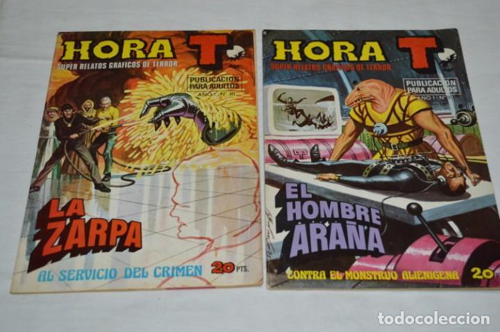Tebeos: HORA T / BRUGUERA Año 1975 - Completa 12 Números / SPIDER y ZARPA de ACERO - Por JESÚS BLASCO ¡Mira! - Foto 11 - 250231400